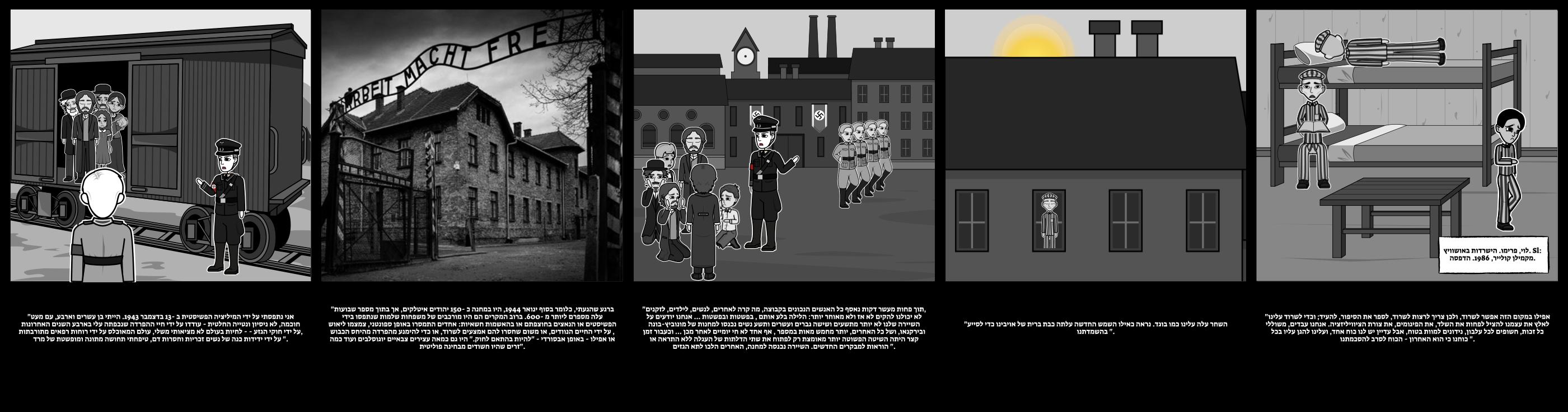 תולדות השואה - קורבנות השואה: פרימו לוי