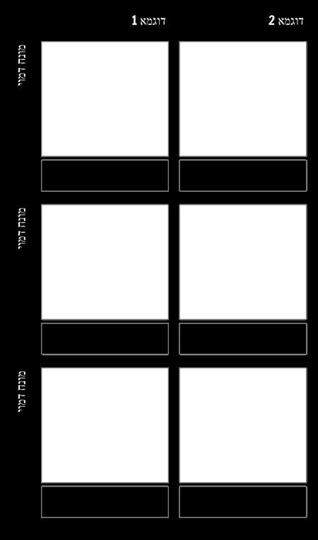 תבנית שפה פיגורטיבית דוגמאות מרובות