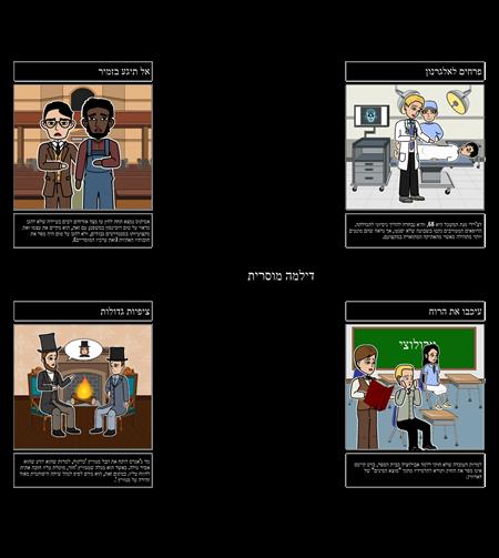 דוגמאות לדילמות אתיות בספרות