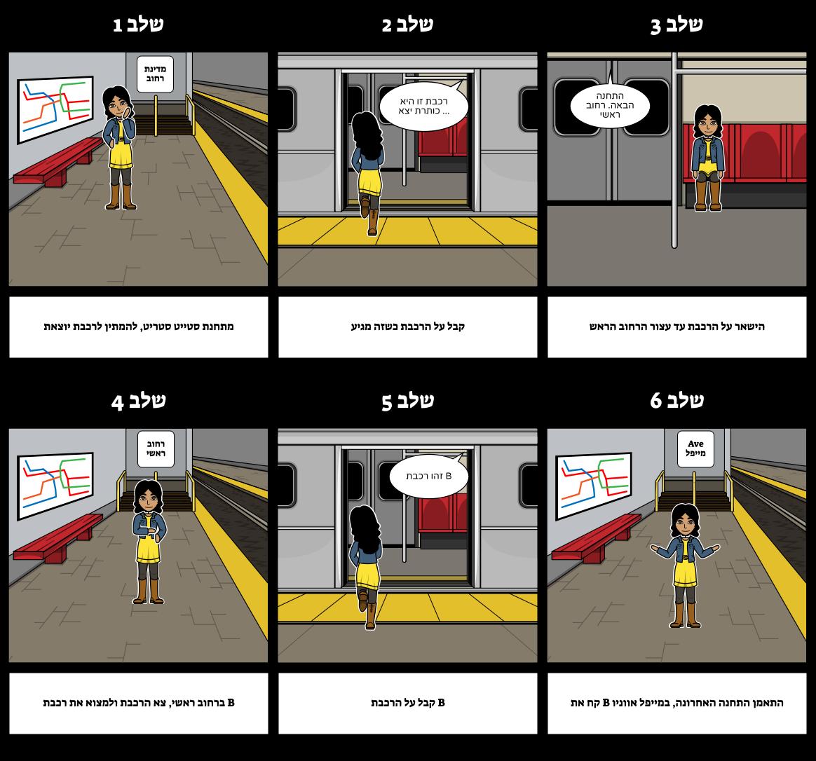 איך לוחות - תחבורה ציבורית
