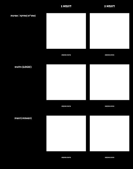 תבנית לוגו פאתוס ואתוס 2