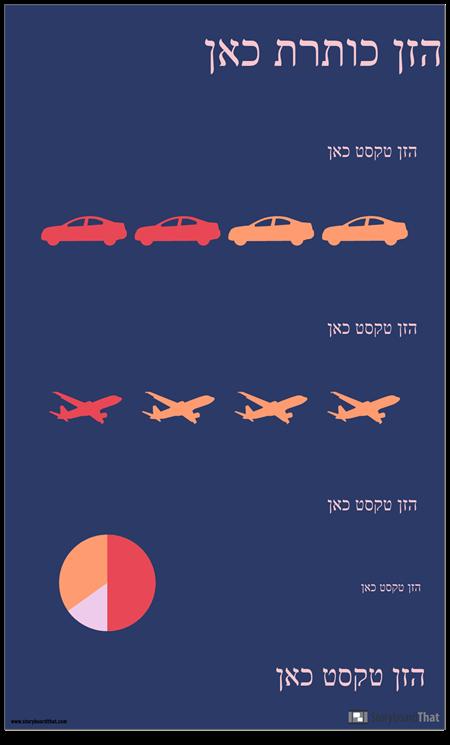 תחבורה PSA Infographic