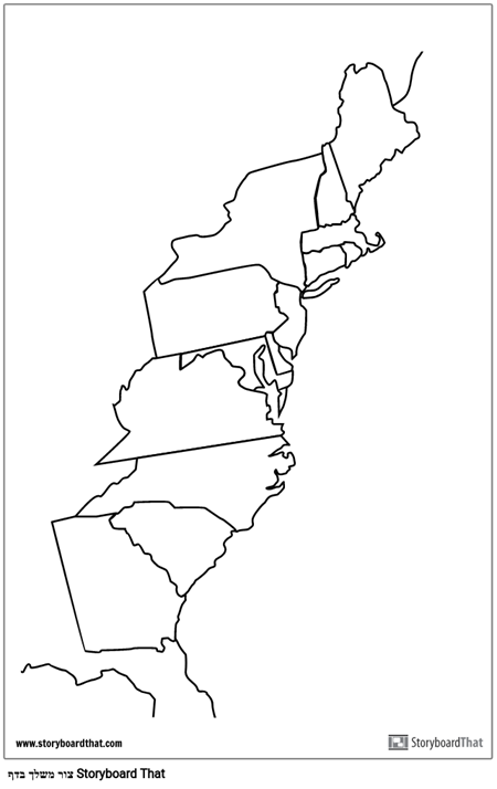 פוסטר 13 מושבות