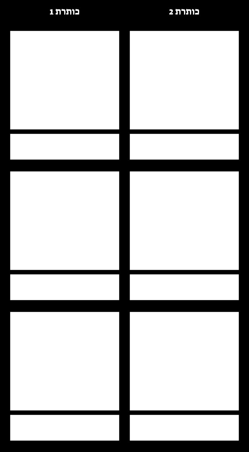 שורות T-תרשים 3