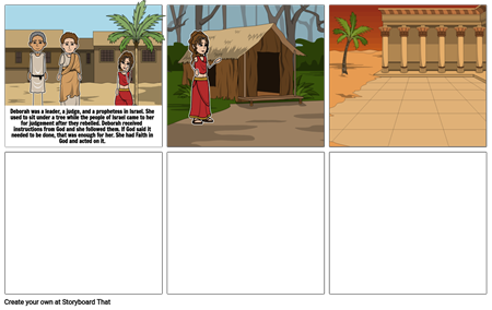 Deborahs storyboard