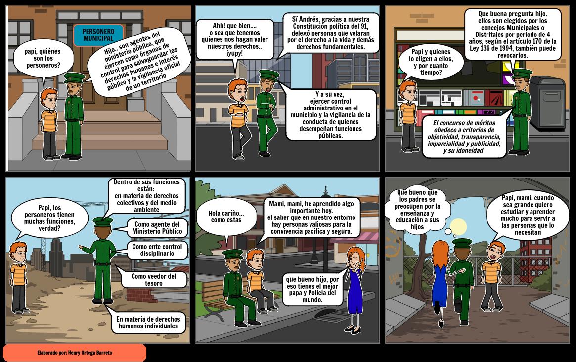 historieta de personero municipal