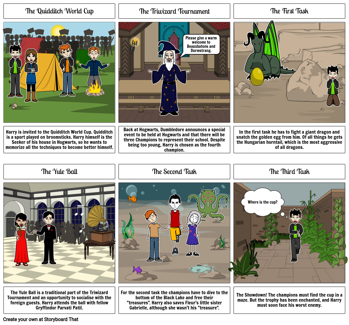 Harry Potter And The Goblet Of Fire Storyboard Durmstrang has, however, taught students from as far afield as bulgaria. storyboard that