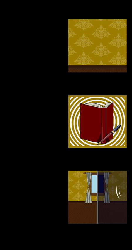 """थीम्स, प्रतीकों, और """"पीला दीवार कागज"""" में रूपांकनों"""