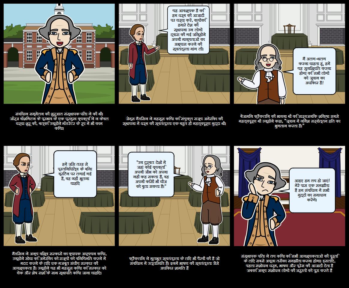 अमेरिका के इतिहास - संस्थापक पिता