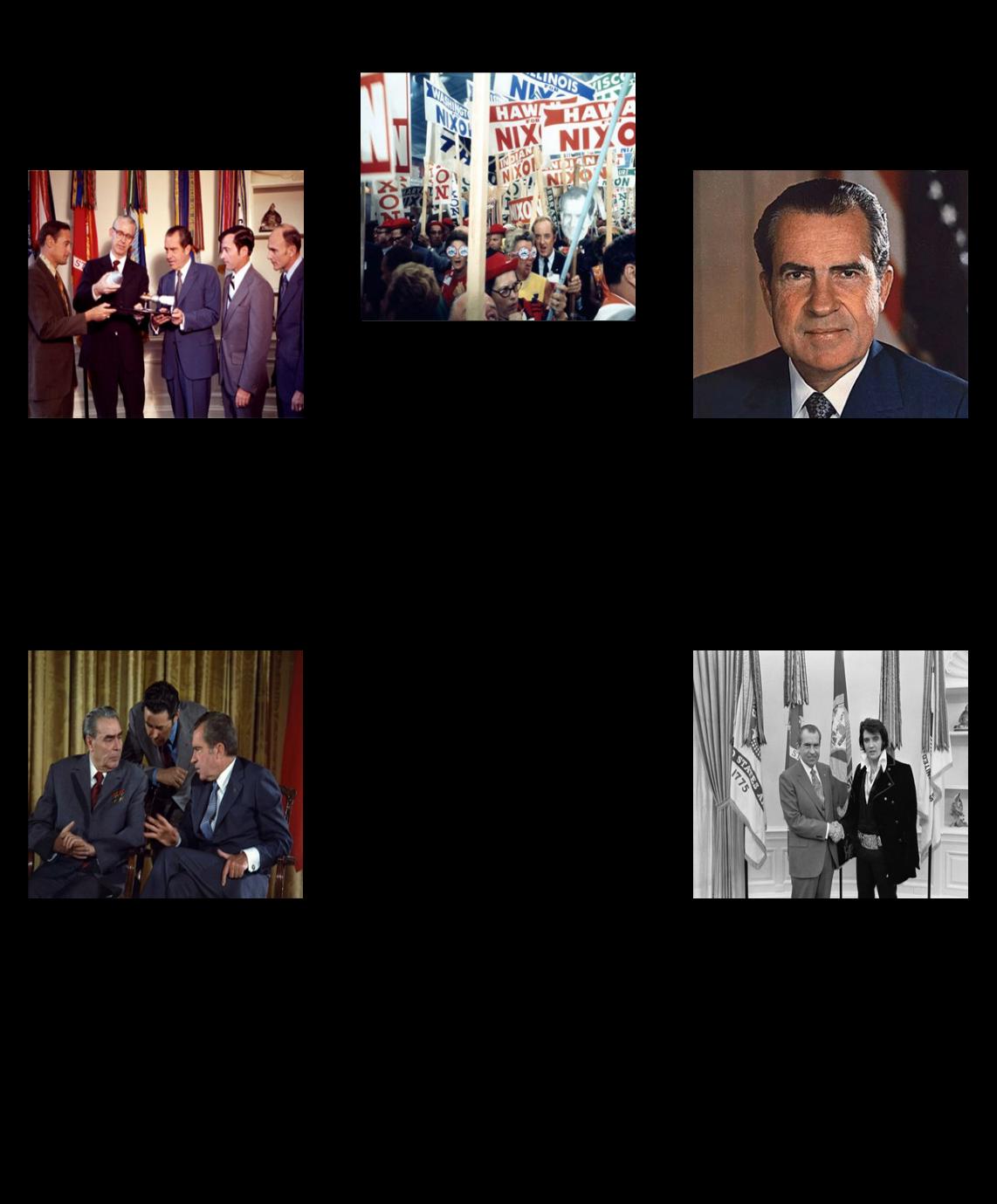 रिचर्ड निक्सन के प्रेसीडेंसी - 1972 के चुनाव के 5 Ws