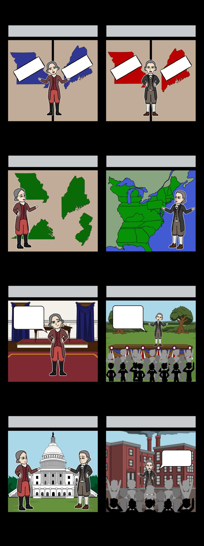 समर्थकों और विरोधियों - 1820 मिसौरी समझौता