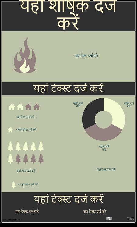 प्राकृतिक इन्फोग्राफिक