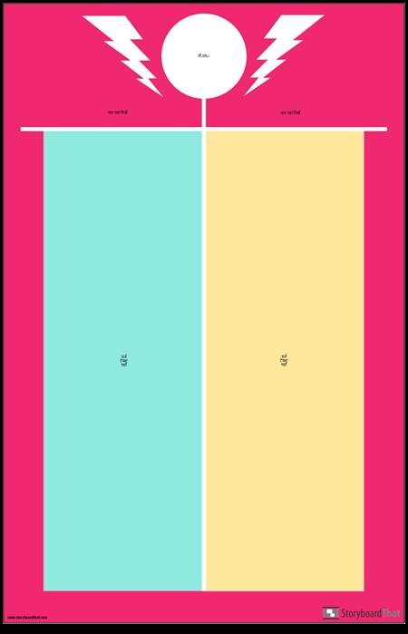 वीएस एंकर चार्ट