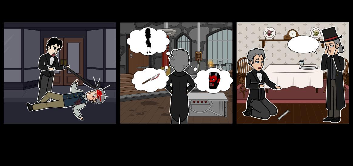 डॉ Jekyll और श्री हाइड साहित्यिक संघर्ष