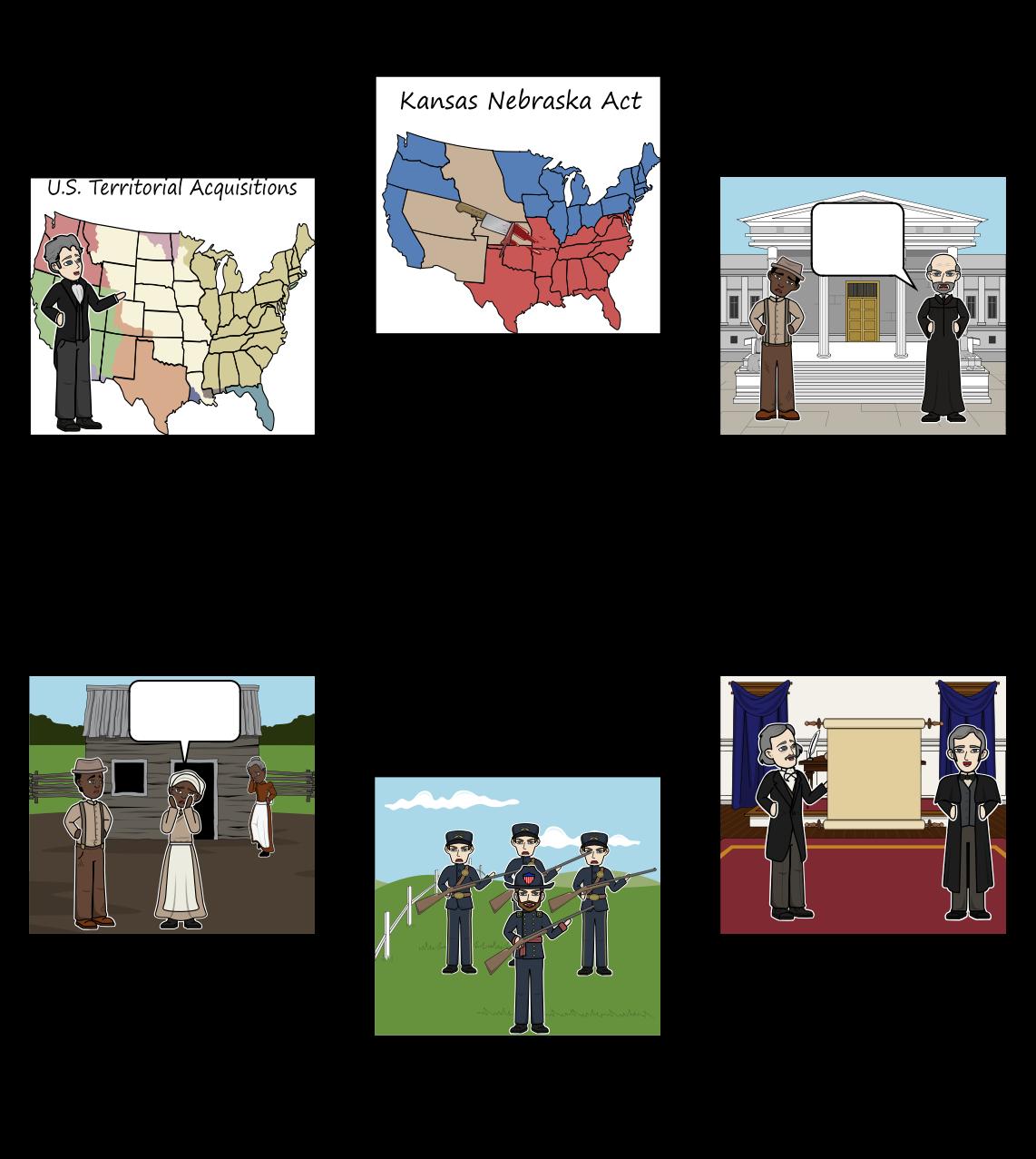 1820 के मिसौरी समझौता - प्रमुख प्रभाव