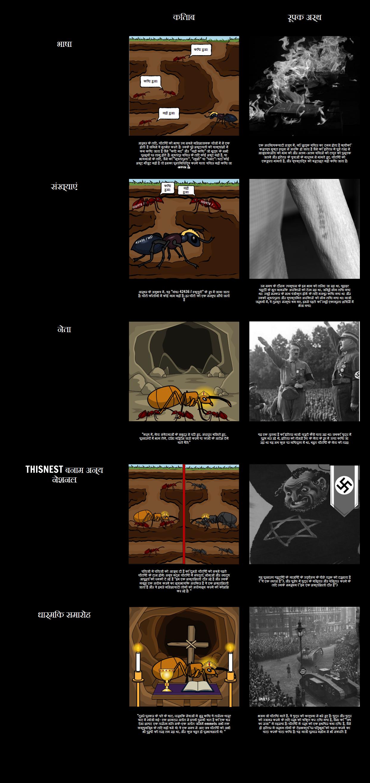 """TOAFK - में """"पत्थर में तलवार"""" चींटियों के पाठ में रूपक"""