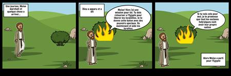 L'apparence de Dieu a Moise