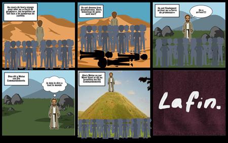 Problemes du long voyage et les dix commandements