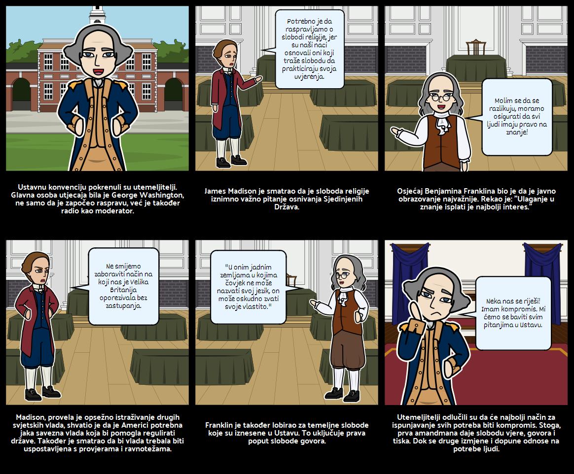 Američka Povijest - Osnivači