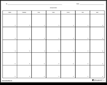 Kalendar - 7 dana