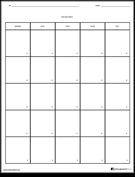 Kalendar - Dan Tjedna