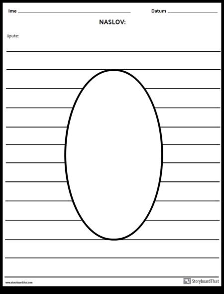Ovalni Ilustracija