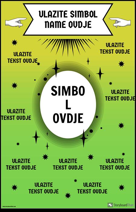 Plakat s Matematičkim Simbolom