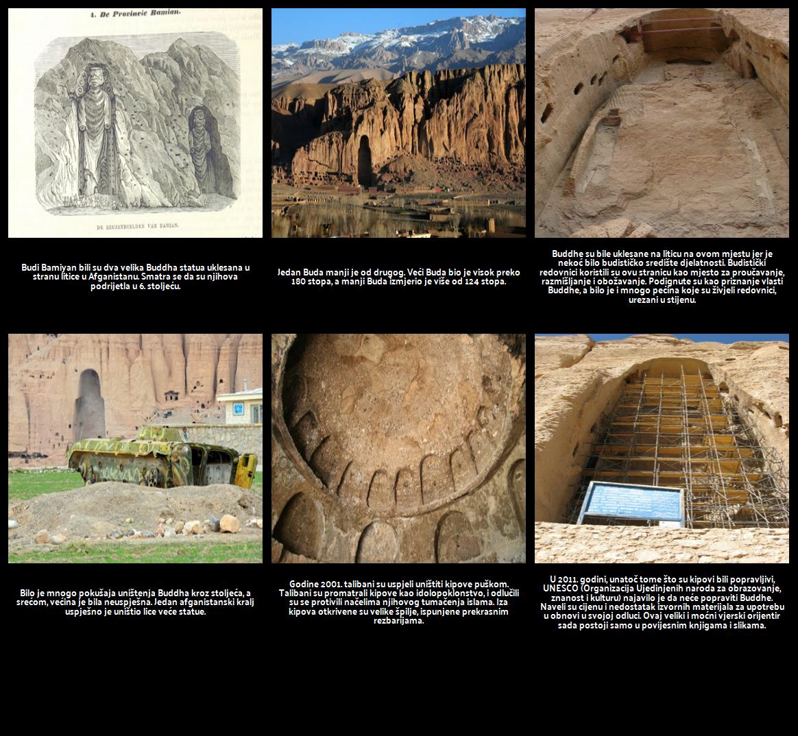 """Povezivanje s temom """"Ozymandias"""": Bamiyan Buddha"""