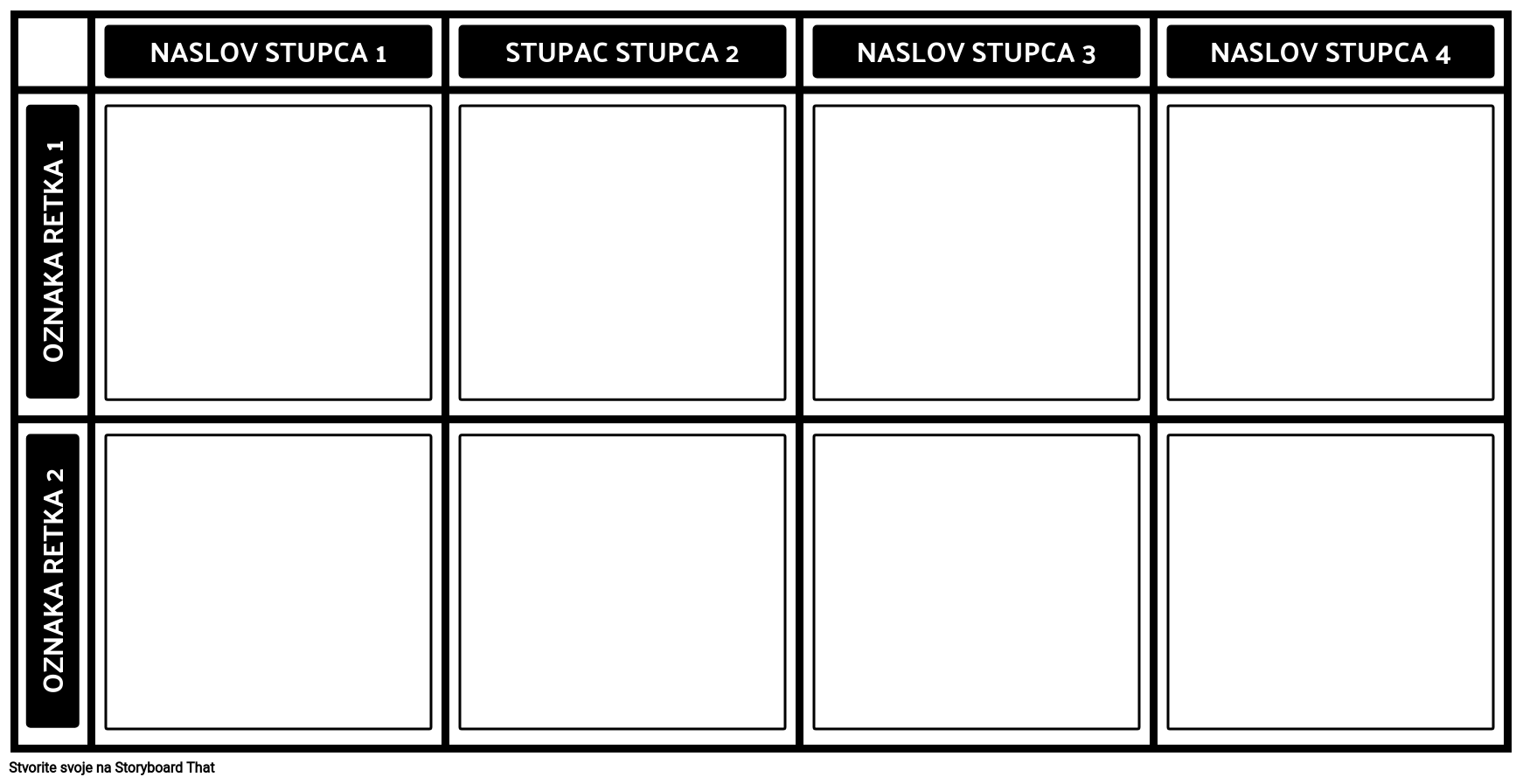 Prazan 2x4 Grafikon