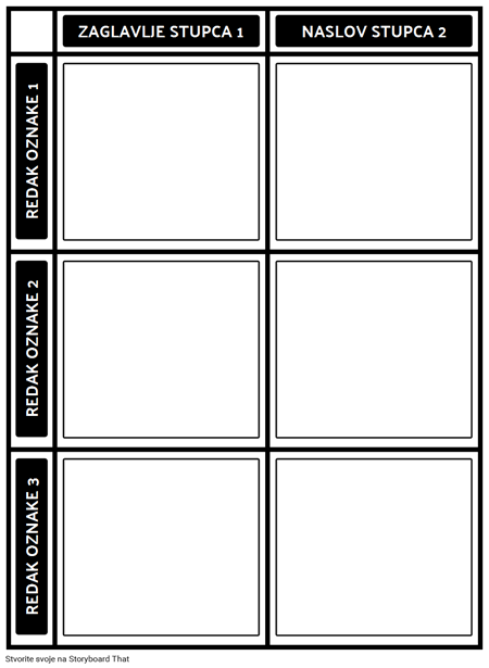 Predložak Grafikona 3x2