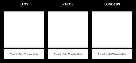 Predložak Logotipa Ethos Pathos