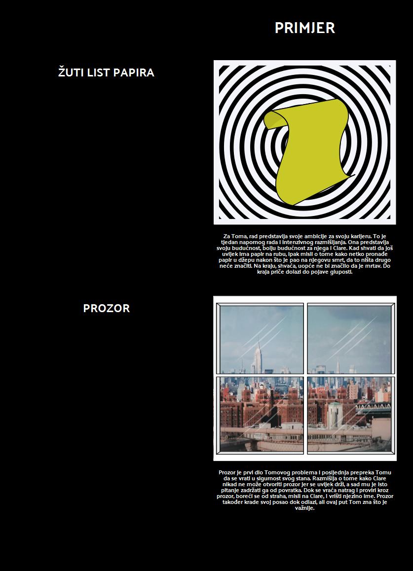 Simboli i Teme u Sadržaju Džepova Mrtvoga Čovjeka