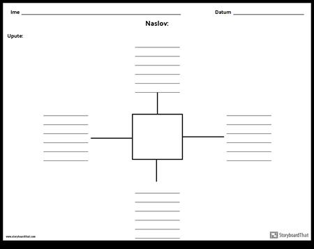 Spider karta s linijama - 4