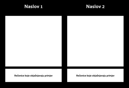 T-grafikon s opisom 1 redak