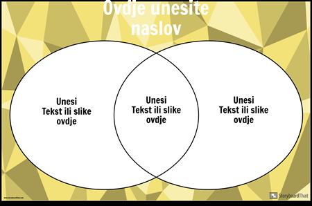 Vennov Dijagram 2 Krugovi