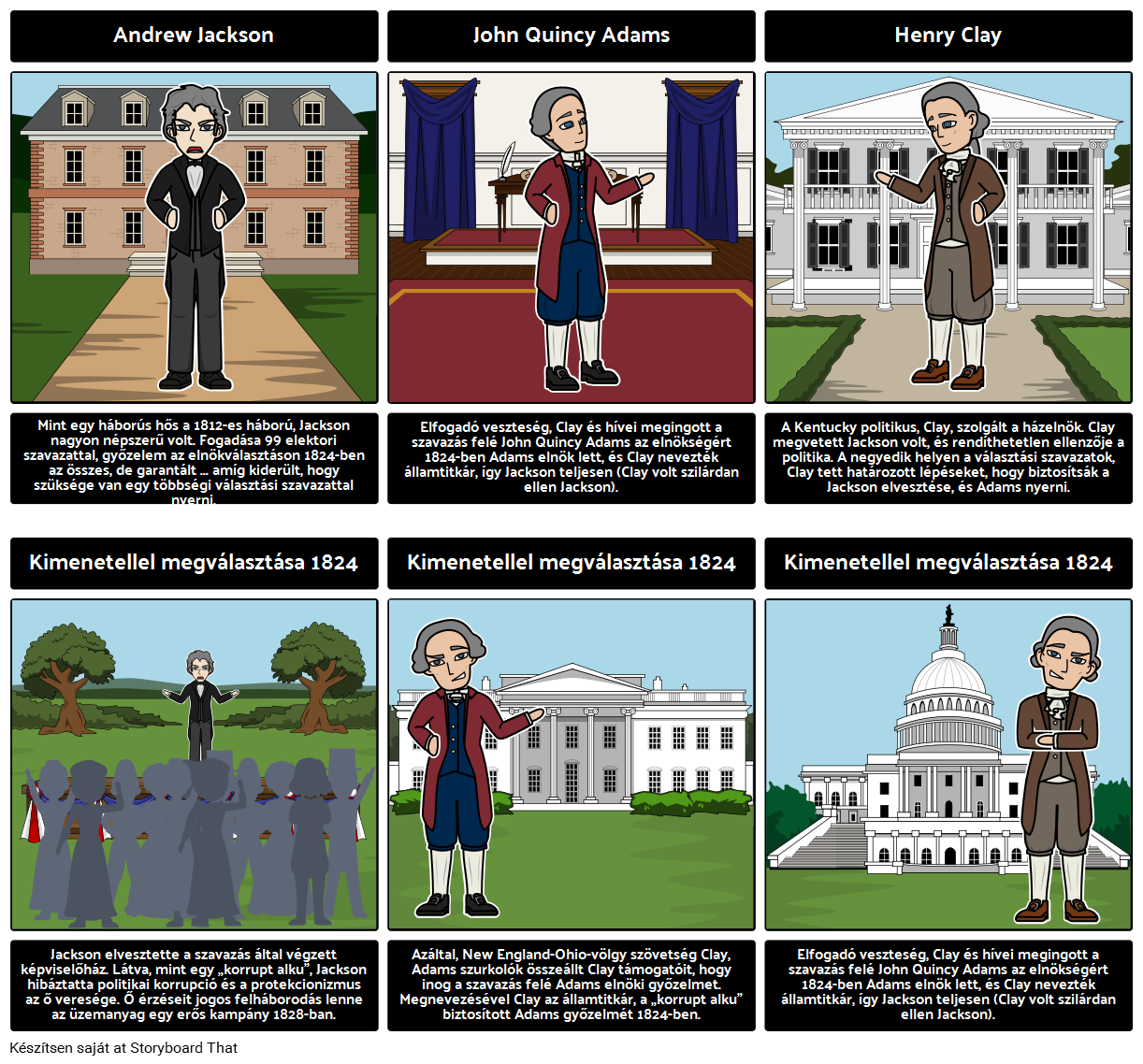 A Választási 1824: egy korrupt alku