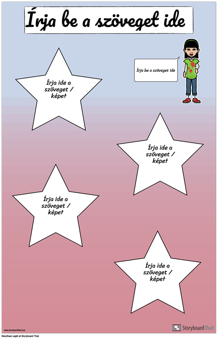 Csillag Utazási Poszter