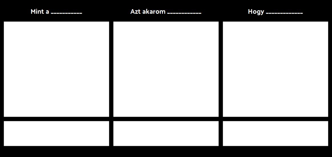 Epikus Felhasználói Történeti Sablon