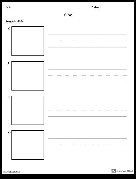 Gyakorlatírás - Hosszabb Szavak és Képdobozok