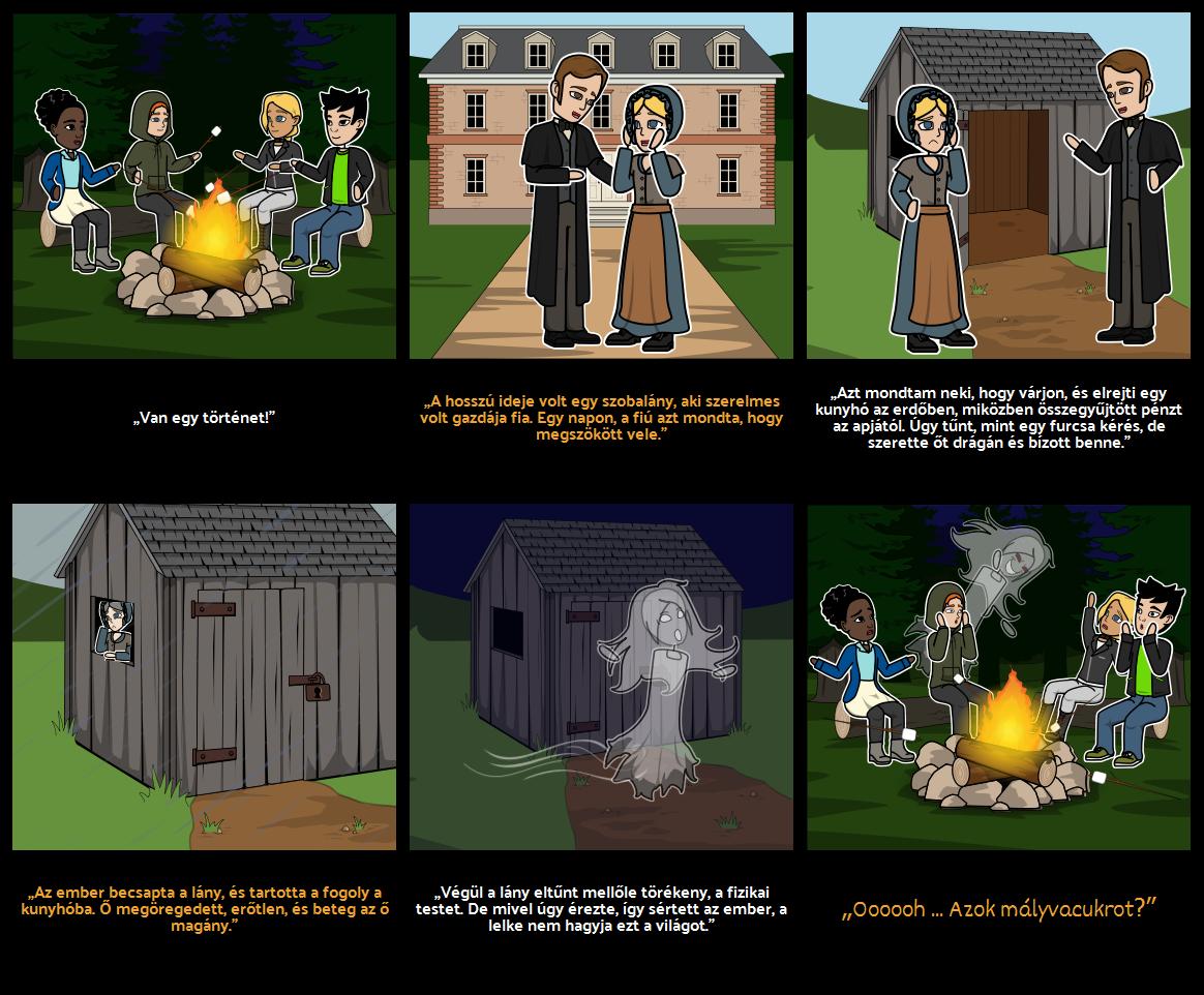 Halloween Tevékenységek - Ijesztő Történet