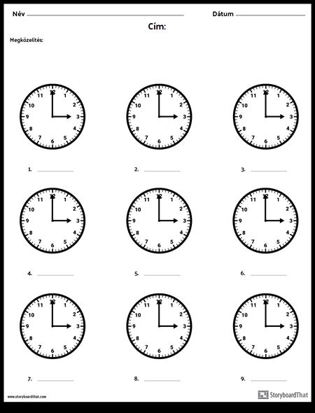 Írd le az Időt