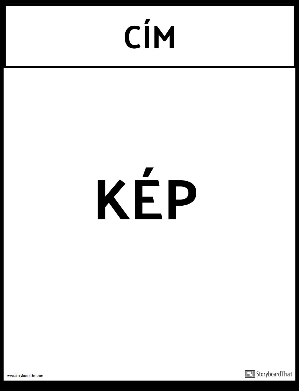 irodai plakát sablon