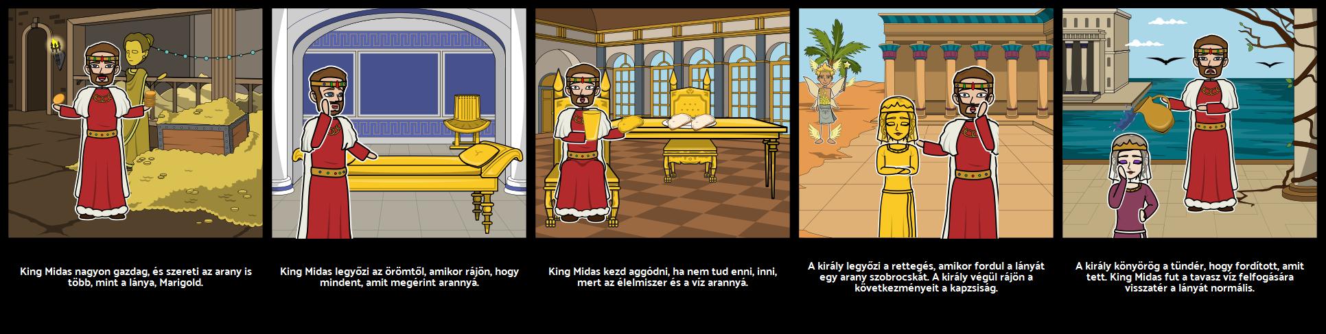 King Midas' Golden Touch Karakter Elemzés