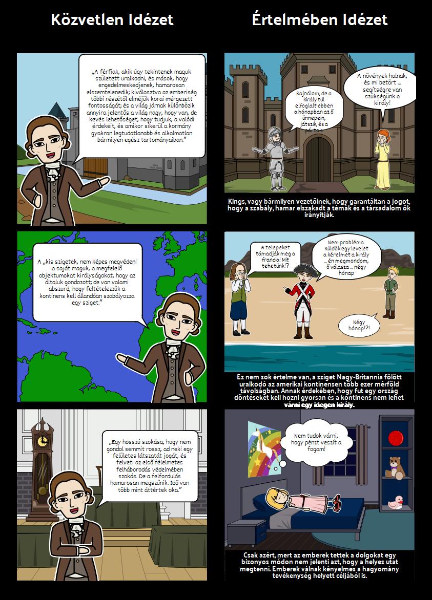 Thomas Paine Common Sense - Idézet Elemzés