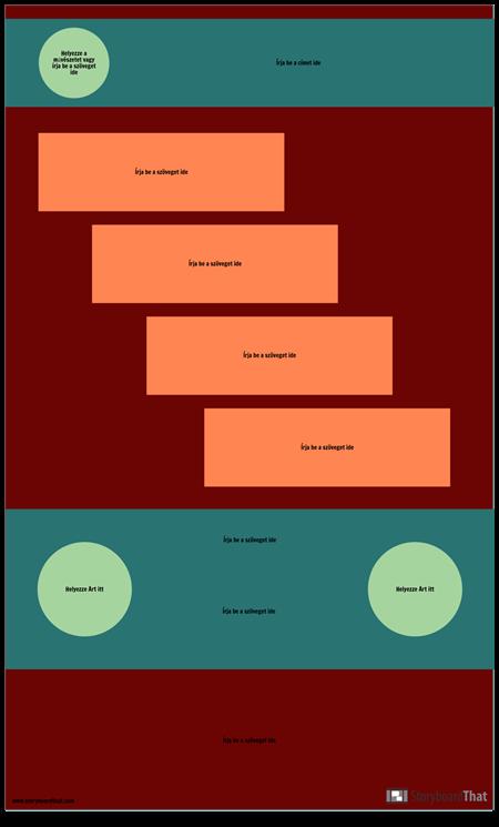 Üres Lépés Infographic Sablon