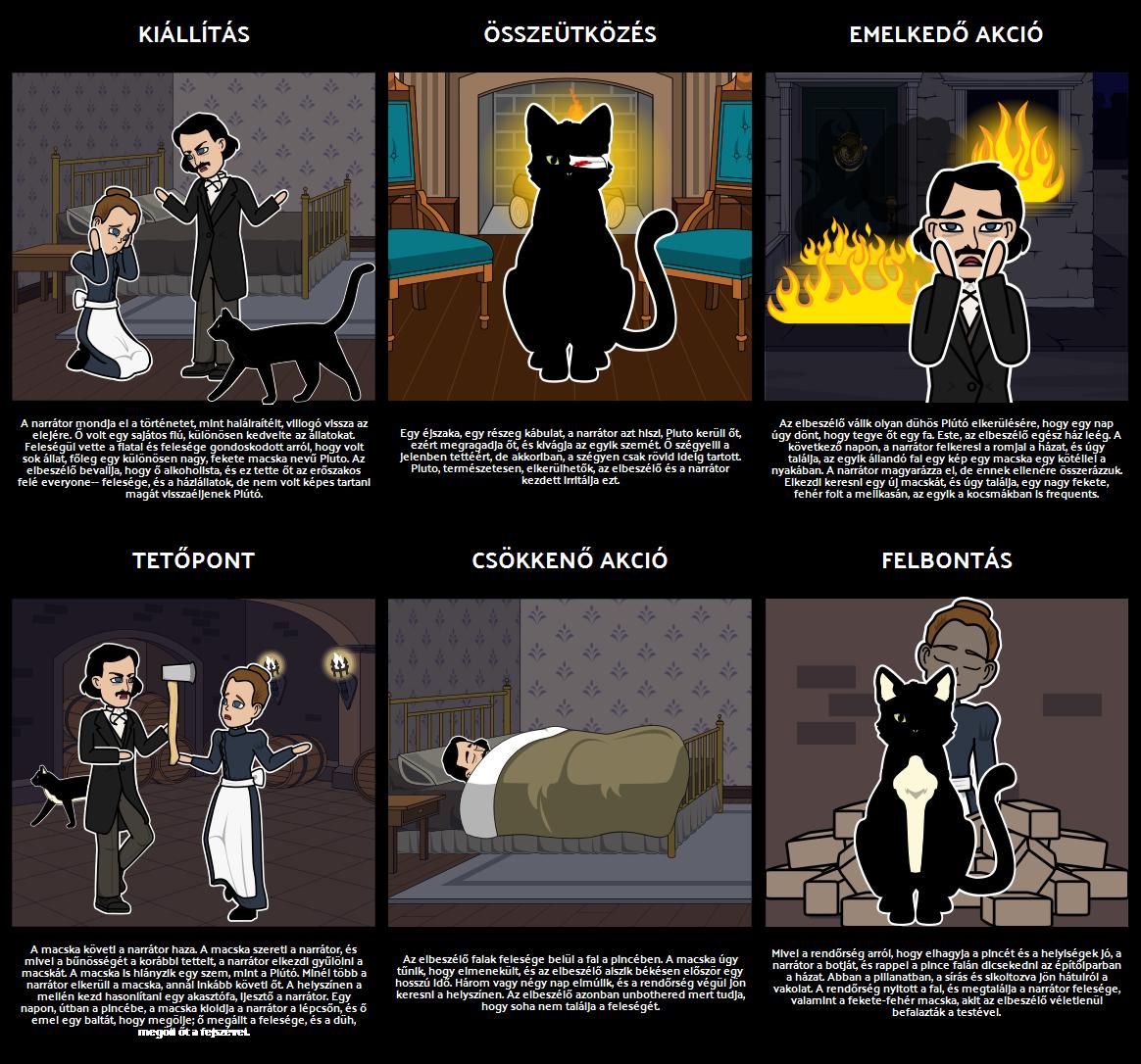 Vegyük Rajz The Black Cat