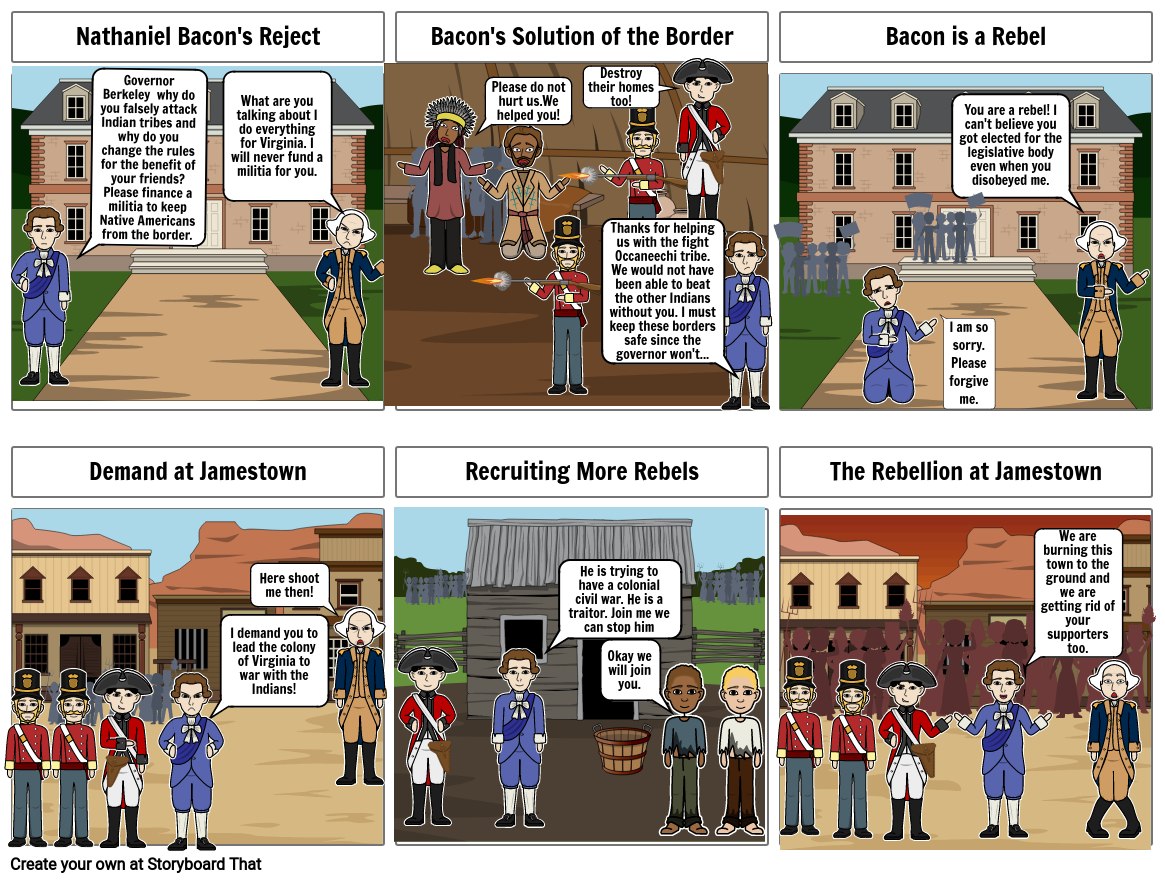 U.S HISTORY Colonial Times Graphic