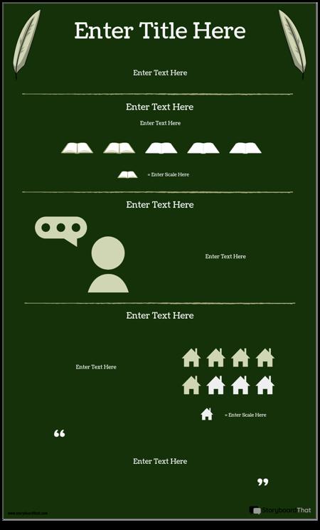 Author/Novel Study Infographic