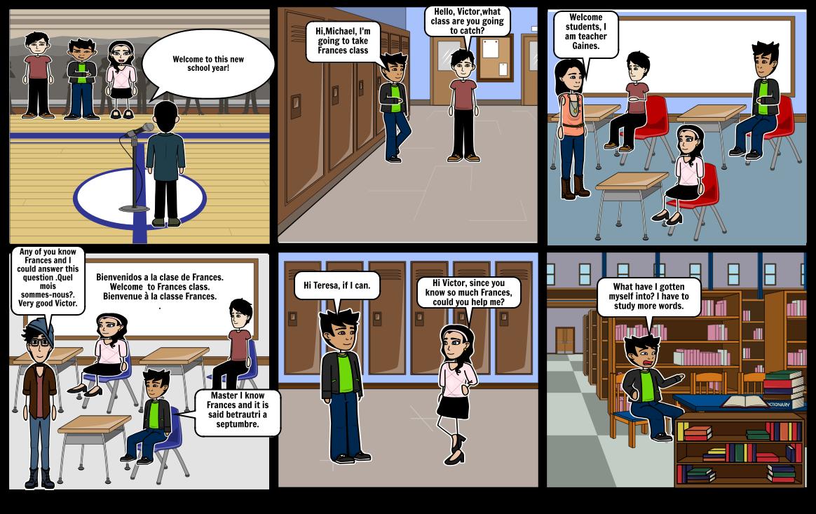 Seventh grade BY: Isabel Mártir 9-1