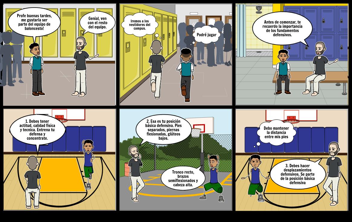 Fundamentos defensivos de baloncesto